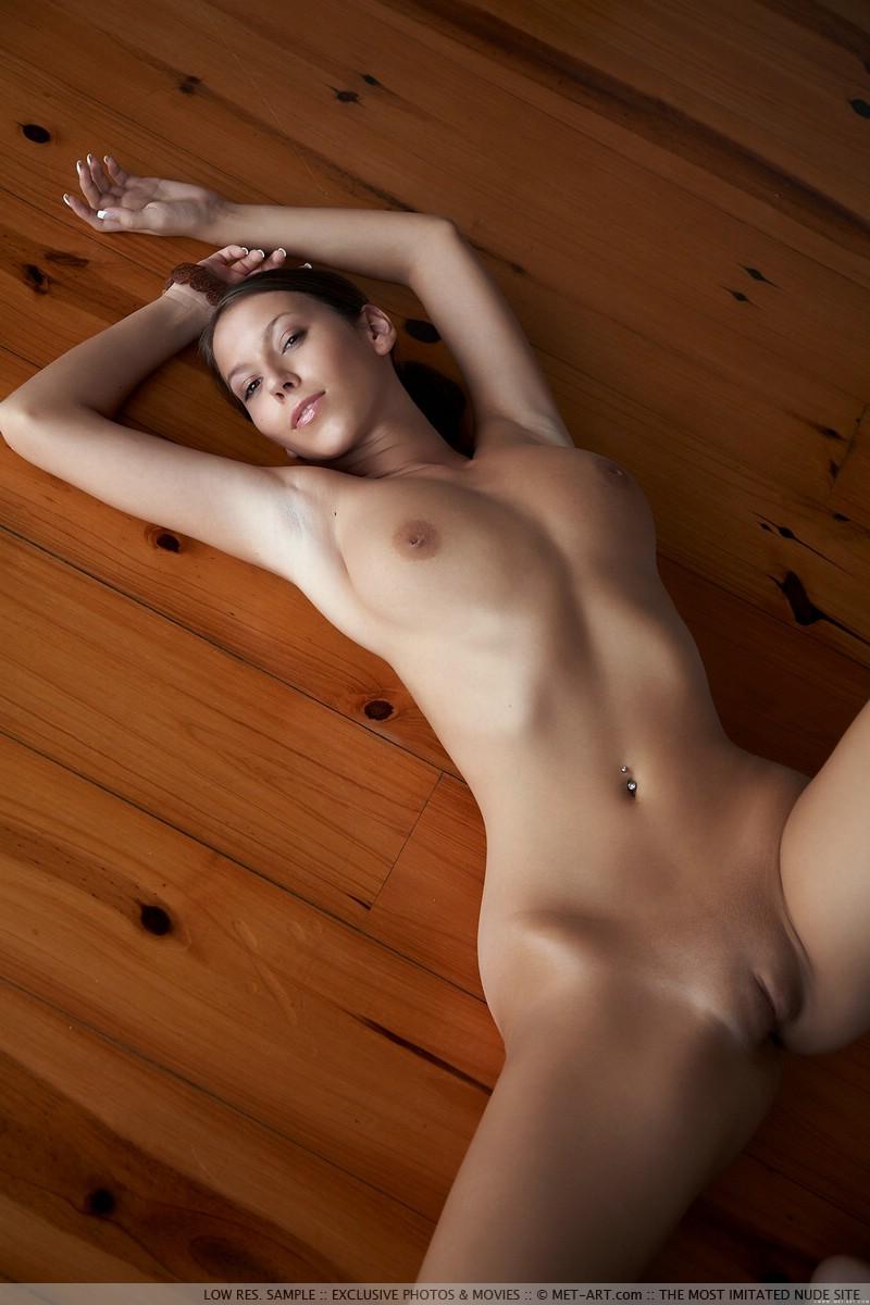 Pretty mature naked woman
