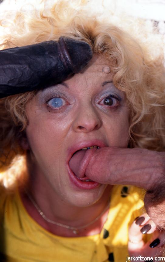 EBONY: Queeny love cum in eyes